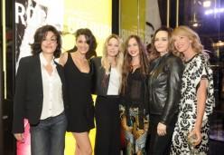 Dorotea Mercuri, Giulia Bevilacqua,Laura Chiatti,Lizzy Jagger, Francesca Neri, Alessia Marcuzzi