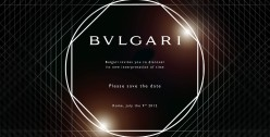 SAVE THE DATE BULGARI OCTO