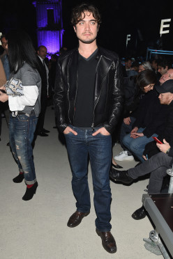 DSQUARED2 SHOW - Front Row - Milan Menswear Fashion Week Fall Winter 2015/2016
