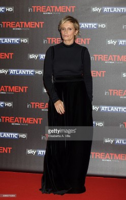 attends a premiere for 'In Treatment 2'  on November 20, 2015 in Rome, Italy.